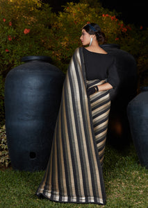 Bachelorette Party Wear Silk Designer Saree - Fashion Nation