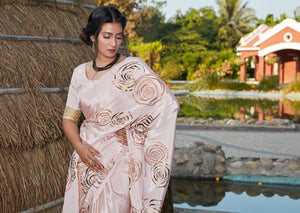 Classy Party Wear Silk Designer Saree at Best Prices by Fashion Nation