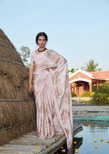 Classy Party Wear Silk Designer Saree by Fashion Nation