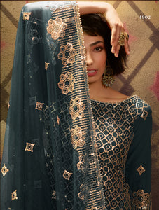 Reception Wear Designer Gharara Suit at Cheapest Prices by Fashion Nation