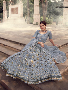 Reception Wear Designer Fashionable Lehenga Choli for Online Sales by Fashion Nation