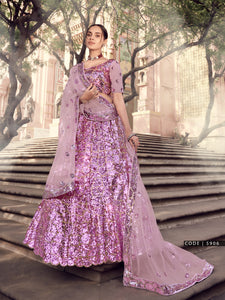 Afternoon Party Designer Sangeet Special Lehenga Choli by Fashion Nation