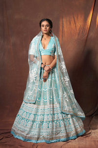 Sagaai Party Wear Designer Lehenga Choli by Fashion Nation