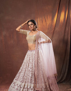 Sangeet Party Wear Designer Lehenga Choli for Online Sales by Fashion Nation