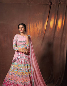 Engagement Party Wear Designer Lehenga Choli for Online Sales by Fashion Nation