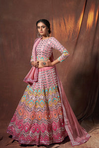 Engagement Party Wear Designer Lehenga Choli by Fashion Nation