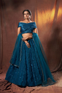 Bachelorette Party Wear Designer Lehenga Choli by Fashion Nation