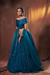 Bachelorette Party Wear Designer Lehenga Choli for Online Sales by Fashion Nation