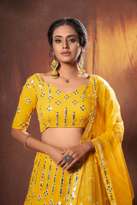 Haldi Function Wear Designer Lehenga Choli at Best Prices by Fashion Nation