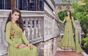 Latest Indo Western Long Gown with Jacket for Online Sales by Fashion Nation