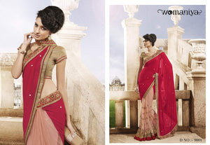 NAK9001 Designer Vikram Phadnis Nakkashi Indian Party Wear Traditional Saree - Fashion Nation