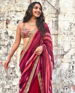 Bollywood Inspired Heroine Kiara Advani Sharara Suit for Online Sales by Fashion Nation