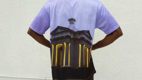 FDTBP5 - Pondicherry Heritage Monuments Full Body T-Shirt - Fashion Nation