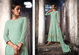 Function Wear Lucknowi Long Indo Western Suit for Online Sales by Fashion Nation