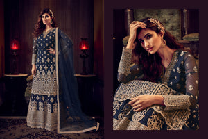 Evening Party Designer Sharara Suit at Cheapest Prices by Fashion Nation