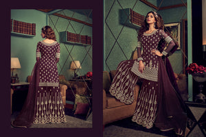 Engagement Party Designer Sharara Suit for Online Sales by Fashion Nation