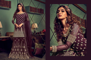 Engagement Party Designer Sharara Suit at Cheapest Prices by Fashion Nation