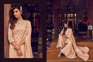 Ceremonial Party Wear Designer Sharara Suit for Online Sales by Fashion Nation