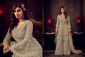 Marriage Party Double Layered Sharara Suit at Cheapest Prices by Fashion Nation