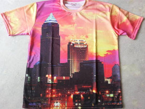 FDTUS3 - Cityscape New York Full Body T-Shirt - Fashion Nation
