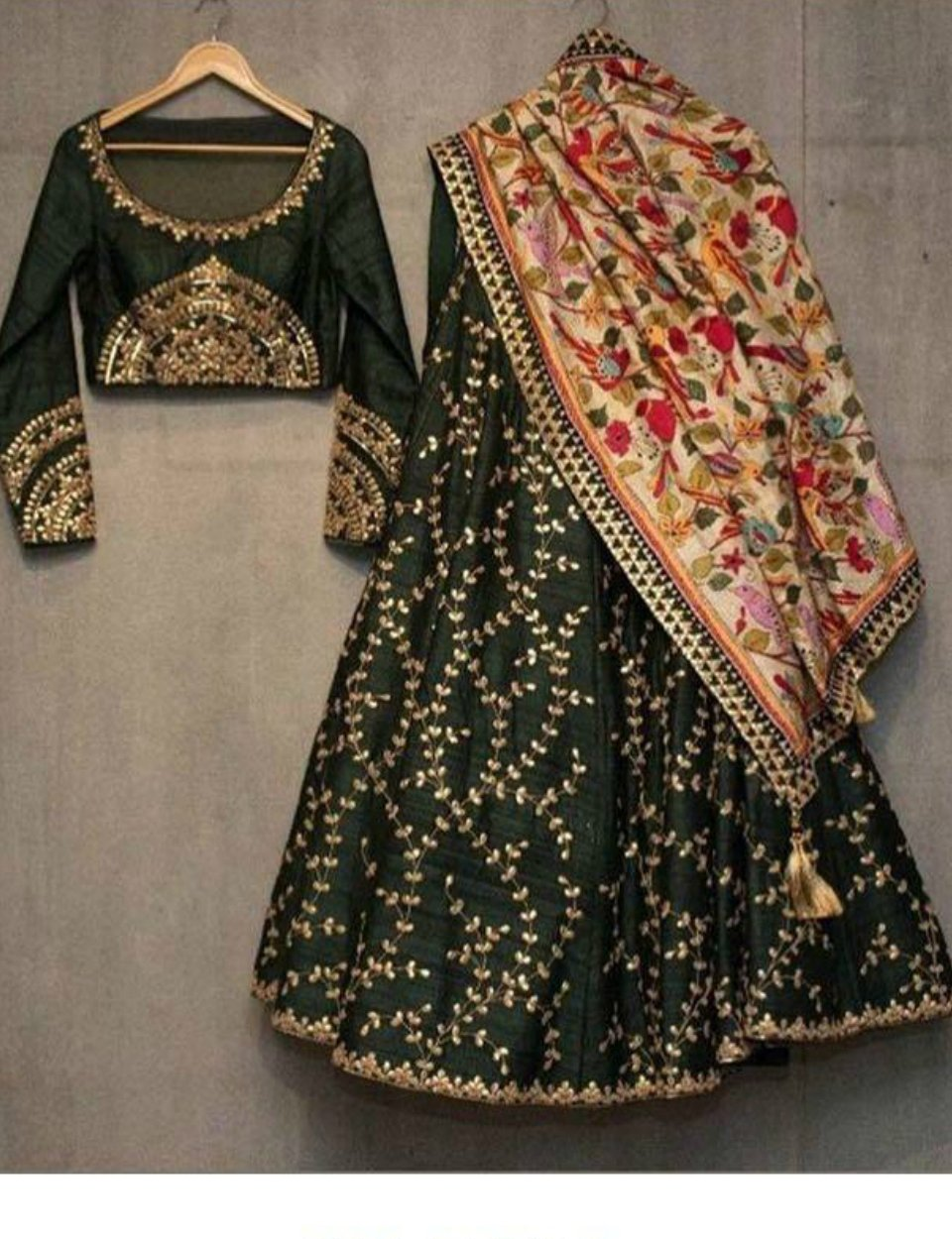SF5134 Designer Bollywood Inspired Silk Lehenga Choli by Fashion Nation
