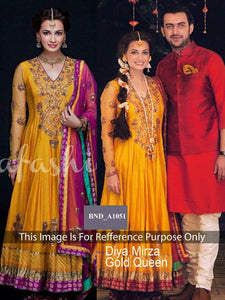 1866 Bollywood Replica Designer Party Wear Dia Mirza Indian Ethnic Anarkali - Fashion Nation
