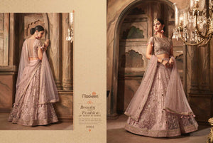 Latest MAI10003 Designer Silk Net Lehenga Choli by Fashion Nation