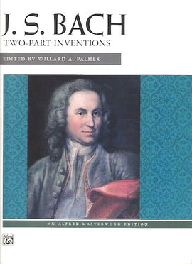 Bach Two-Part Inventions Ed.Willard A. Palmer Alfred Masterworks 604