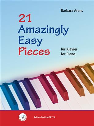 21 Amazingly Easy Pieces Barbara Arens 9790004185025