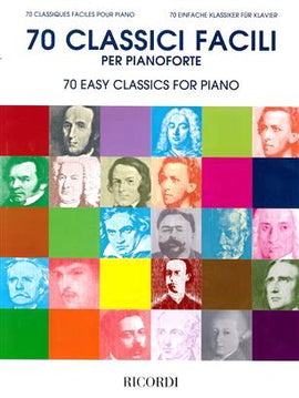 70 Easy Classics For Piano 9790041830384