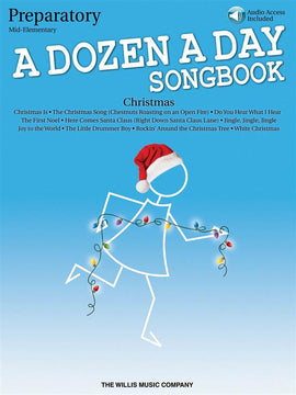 A Dozen a Day Christmas Songbook Preparatory  9781495026898