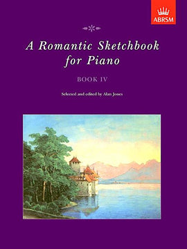 A Romantic Sketchbook for Piano Book 4 Prelude in Db Op. 43 No 1 Gliere Grade 6