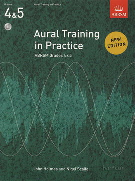 Aural Training in Practice Grades 4 & 5 ABRSM Book + CD New Edition 9781848492462