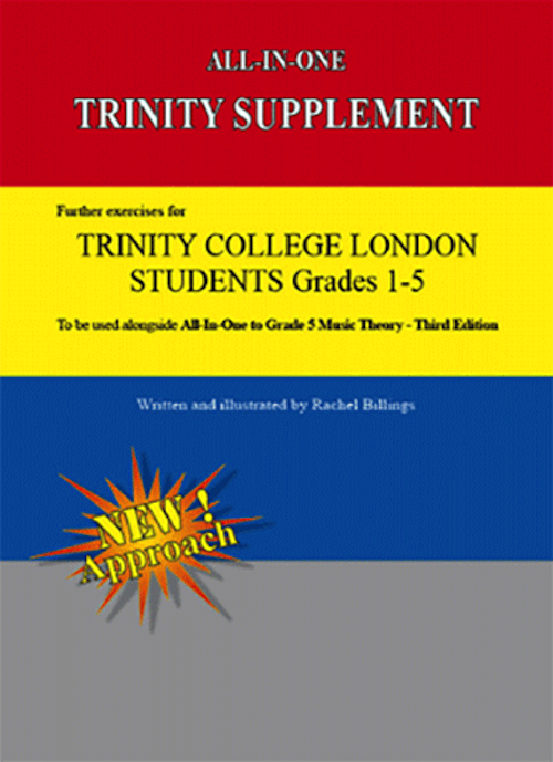 All In One Trinity Supplement To Grade 5 Music Theory 3rd edition All-In-One Series