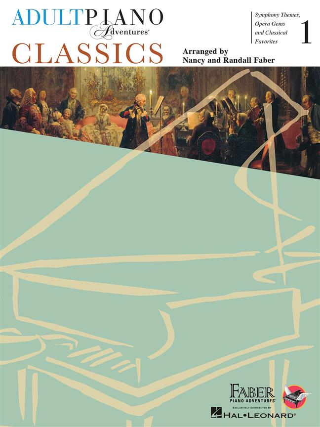Adult Piano Adventures 1 classics 9781616771867