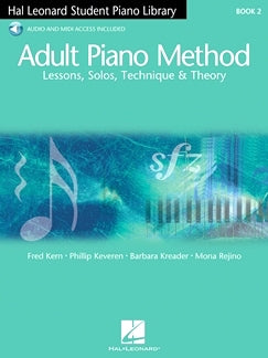 Adult Piano Method Book 2 + Audio Online HL00298085