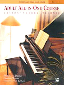 Adult All In One Piano Course Alfred 5753 9780882848181