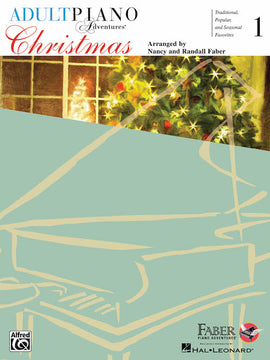 Adult Piano Adventures Christmas Book 1 with Audio Online HL00420248