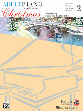 Adult Piano Adventures Christmas Book 2 with Audio Online HL00420249