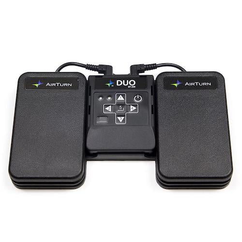AirTurn Duo 200 Bluetooth Foot Pedal Page Turn for iPad and Tablet ATDUO200