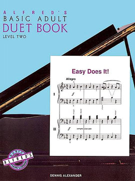 Alfred's Basic Adult Duet Book Level 2 3108