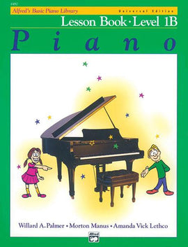 Alfred's Basic Piano Library Lesson Book Level 1B Book + CD 6490