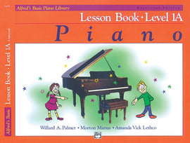 Alfred's Basic Piano Library Lesson Book Level 1A Book + CD 6489