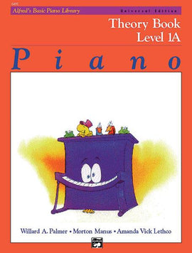 Alfred's Basic Piano Library Theory Book Level 1A 6491