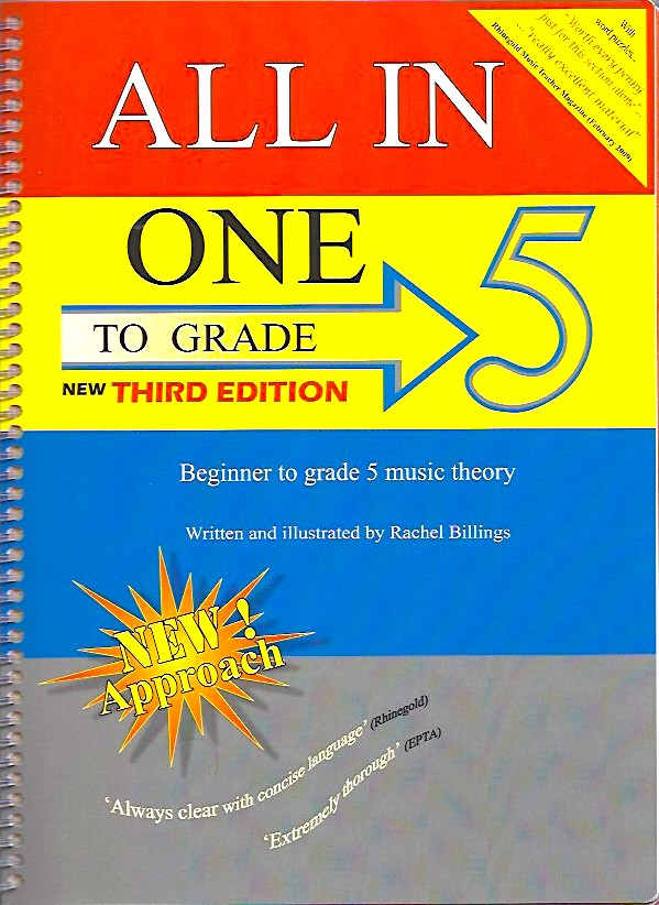 All In One To Grade 5 Music Theory 3rd edition  Rachel Billings 9780993447501