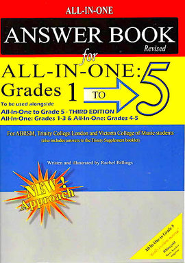 All In One To Grade 5 Music Theory Answer Book Rachel Billings A10ANS