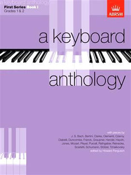 A Keyboard Anthology First Series Book I ABRSM 9781854721730