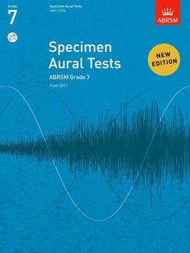 Specimen Aural Tests Grade 7 ABRSM Book + CD 9781848492592