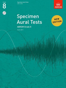 Specimen Aural Tests Grade 8 ABRSM Book + CD 9781848492608