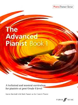 The Advanced Pianist Book 1 Karen Marshall  Mark Tanner 9780571541164